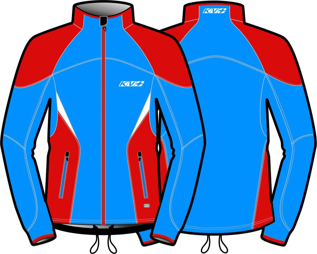 LAHTI JACKET UNISEX (blue/red)
